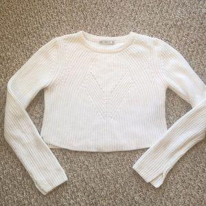 Cropped zara knit